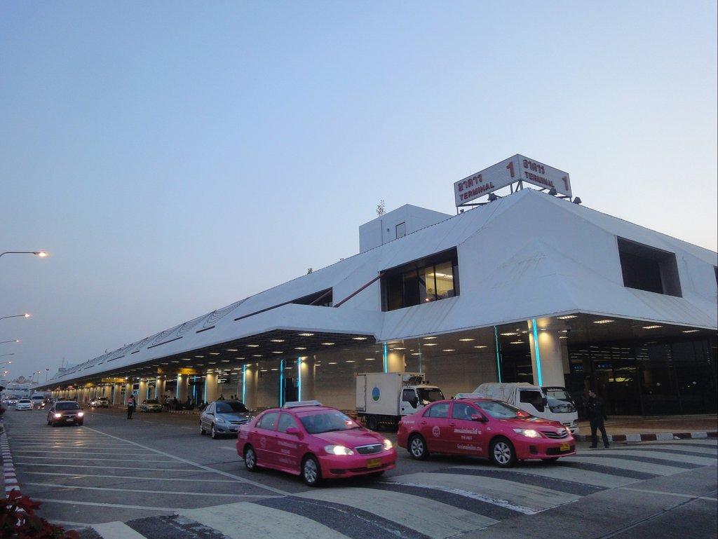 Аэропорт Дон Муанг в Бангкоке - как добраться на карте