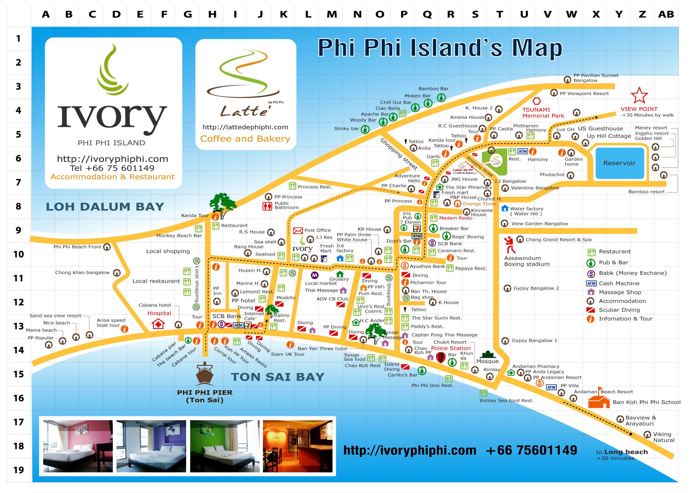 Острова Пхи Пхи в Тайланде фото отели пляжи погода карта