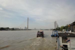 Река Чао Прайя в столице Таиланда