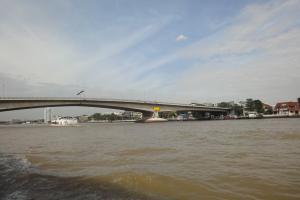 Река Чао Прайя в столице Таиланда Бангкоке