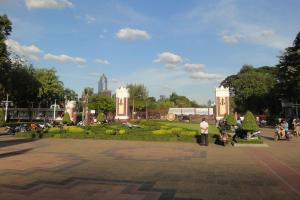 Вход в Lumpini Park