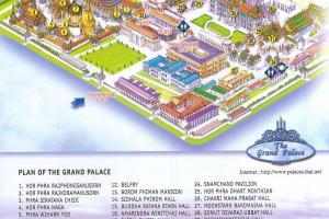 Карта Королевского Дворца