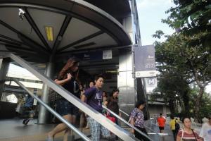 Станция метро MRT Silom