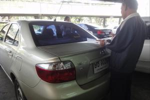 Наш автомобиль, взятый в прокат за 800 бат