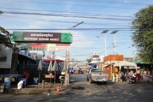 Рынок Чатучак рядом с метро Mo Chit