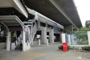 Станция метро Saphan Taksin (BTS) в Бангоке