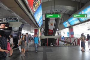 Станция наземного метро Siam