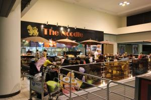 Ресторан Noodle в аэропорту