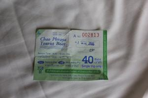 Билет на Tourist Boat на Чао Прайе 40 бат