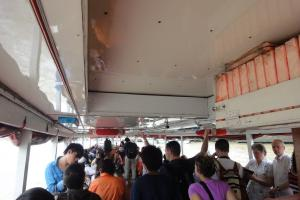 На борту парома на реке Чао Прайя