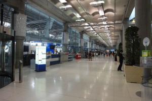 1-ый этаж аэропорта Суварнабхуми