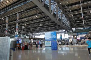 4-ый этаж аэропорта Суварнабхуми