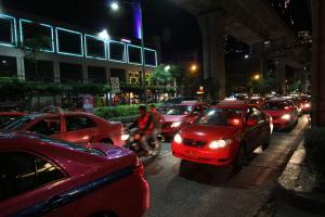Такси ночью в НГ