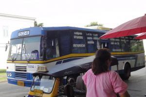 Кондиционированный автобус в Бангкоке