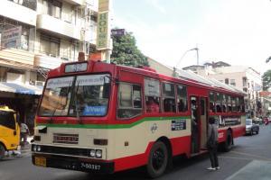 Автобус без кондиционера в Бангкоке