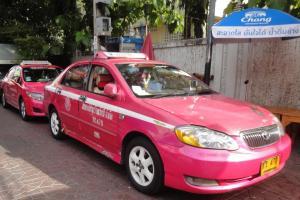 Кондиционированное такси в Бангкоке