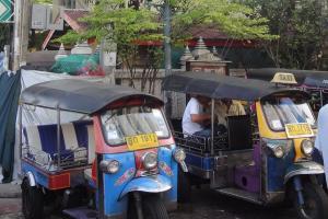 Такси тук-тук в Бангкоке