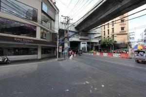 Поворот на Сои 8 на Сукхумвит в Бангкоке