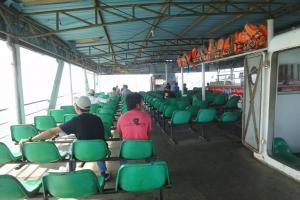 На борту парома в строну острова Ко Чанг