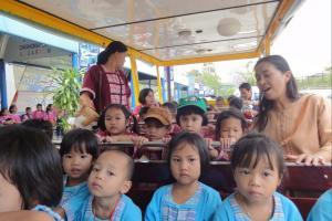 Автобус в зоопарке