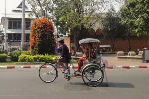 Велорикша в Чианг Май