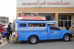 Синий сонгтео в Чианг Май
