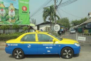 Такси со счетчиком в Чианг Май