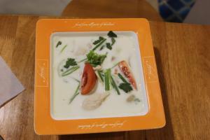 Тайский кокосовый суп - Том Кха Гай