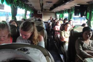 Салон автобуса Пхукет - Чумпон