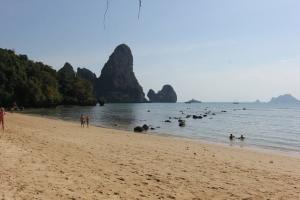 Отлив на пляже Тонсай