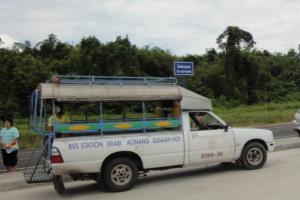 Сонгтео - один из доступных видом транспорта в Краби