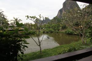 Вид с балкона в отеле Railay Princess Resort