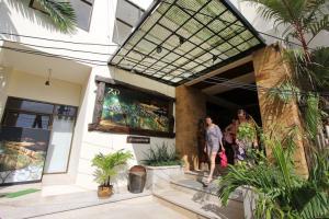 Центральный вход в отель Railay Princess Resort