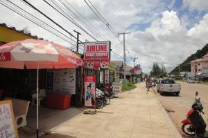 Главная дорога на Ко Ланта в Клонг Дао