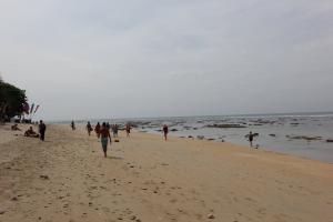 Пляж во время отлива