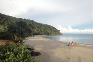 Пляж в национальном парке
