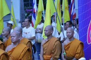 Буддисткие монахи в Тайланде