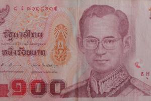 100 бат Тайланда