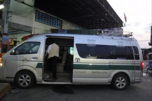 Автобус Чианг Рай - Mae Sai к границе с Бирмой