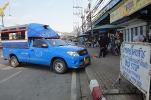 Сонгтео в Чианг Саен и Золотой Треугольник