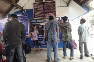 Выезжающие заграницу в Лаос. Погранпереход в Chiang Khong