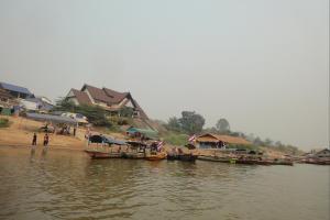 Пирс в Чианг Кхонг