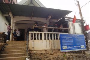 Граница с Лаосом в Huay Xai