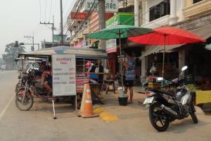 Тук Тук до границы с Лаосом