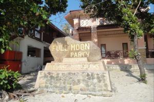 Место проведения Full Moon Party на Пангане