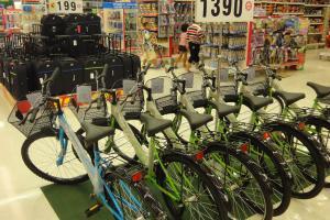 Велосипед в Биг Си