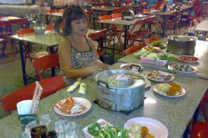 Тайский шведский стол в Паттайе