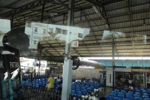 Автовокзал на Северной улице в Паттайе