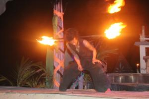 Огненные шоу на Пхи-Пхи