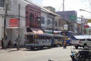 Автобус к пляжам в Пхукет Тауне